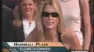 Elizabeth Edwards confronts Ann Coulter