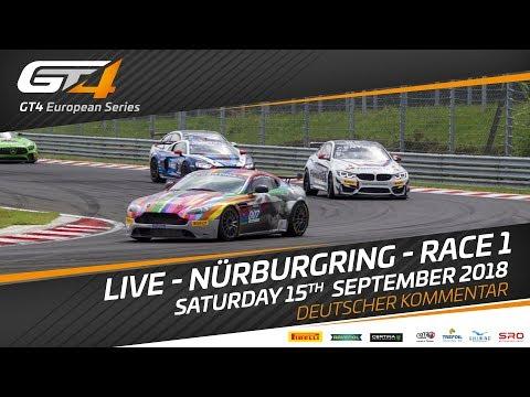 Race 1 - Nurburgring - GT4 European Series - Deutscher Kommertar