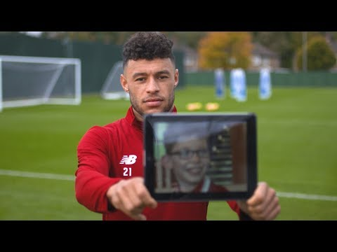 Sam's Disney Surprise: Oxlade-Chamberlain helps fulfill a young fan's dream | LFC Dream Ticket