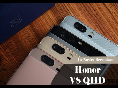 HONOR V8 QHD | Unboxing - Video in 4K