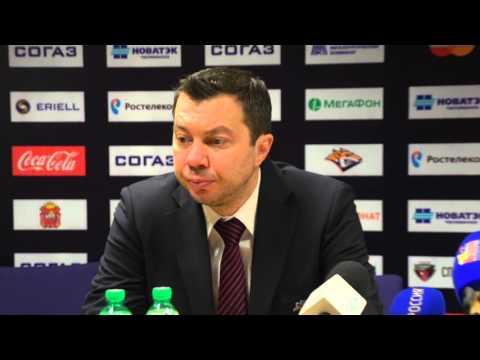 Пресс-конференция: Металлург 1:2 Автомобилист (22.02.2016) Плей-офф