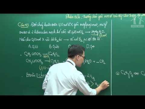 Hướng dẫn giải đề môn Hóa THPT QG 2016 (P2) - Thầy Vũ Khắc Ngọc