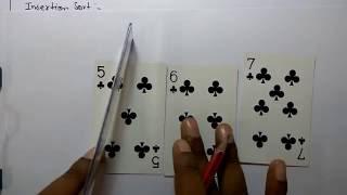 Insertion Sort Complexity analysis (English+Hindi)