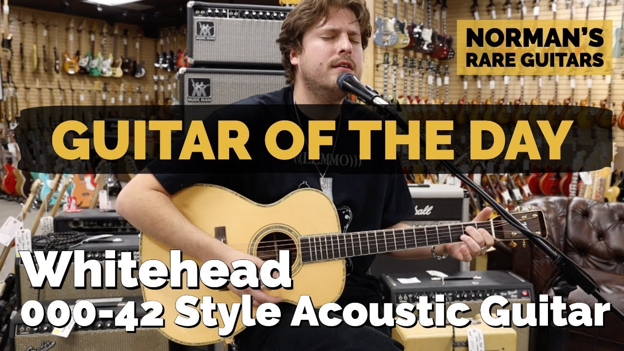 Guitar of the Day: Whitehead 000-42 Style Acoustic | Norman's Rare Guitars
