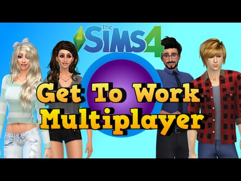 The Sims 4 Get To Work Multiplayer Episode 1 Bunch Of Roomies