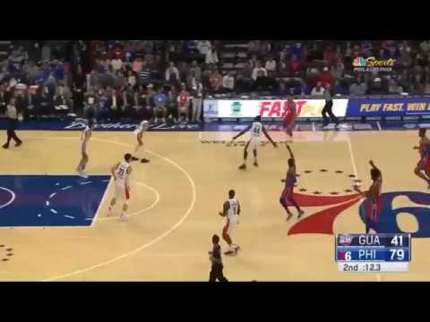 Ben Simmons 3 pointer with Chris Smoove music