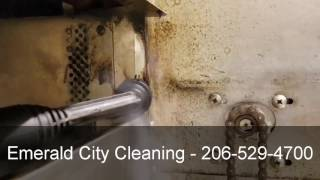 TANCS equipped vapor cleaners make cleaning years of neglect easy