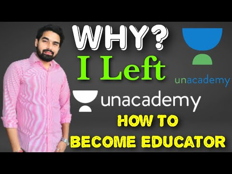 Why I left unacademy | How to become educator on Unacademy | Unacademy App | Examsolutions