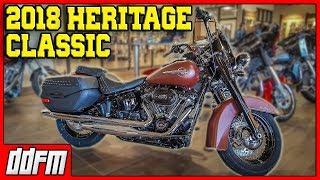 1. 2018 Harley Davidson Heritage Softail Classic Specs and Walkaround