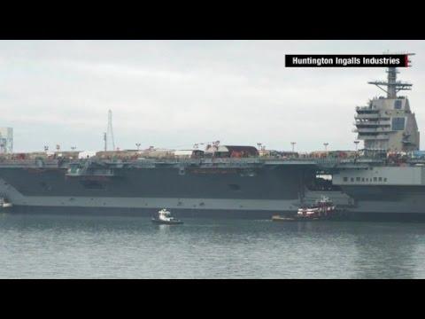 America's new $13 billion warship, the USS Gerald Ford