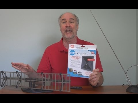 Clear TV- As Seen On TV Antenna Review in 4k | EpicReviewGuys CC