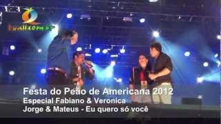 Jorge & Mateus - Eu quero só você- Festa do peão d