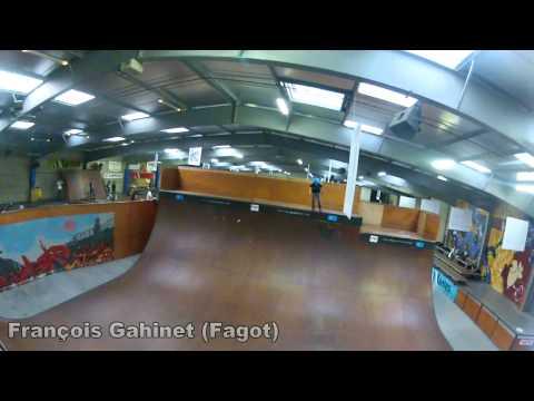 Edit des Riders Rennais au Skatepark Le Hangar à Nantes