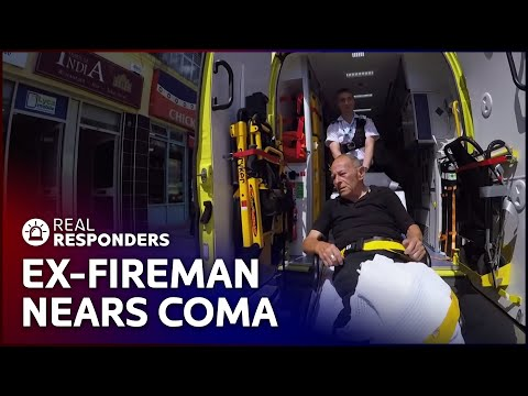 Fireman's Diabetic Attack Could Put Him In A Coma | Inside The Ambulance SE1 EP10 | Real Responders