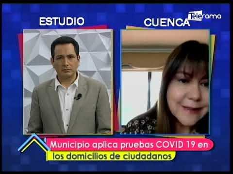Municipio aplica pruebas COVID-19 en los domicilios de ciudadanos
