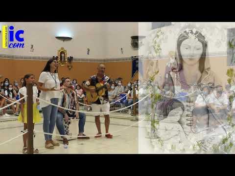 SARA Y JUAN CARLOS EL PINTAO cantan a la Vírgen del Mar de Punta del Caimán en su Festividad