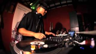 DJ Babu of Dilated Peoples.