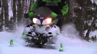 7. Arctic Cat Crossfire 600 and Sabercat 700 HD