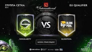 Singularity vs Blinkpool, The International EU QL [Mortalles, Lum1Sit]