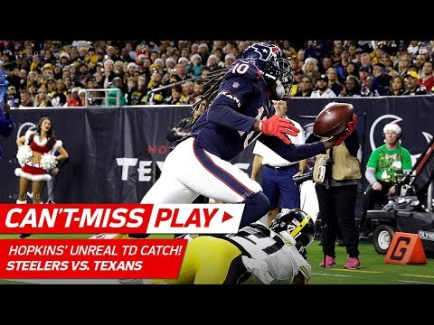 Video: DeAndre Hopkins' TD Grab Might Be Catch of the Year! | Can't-Miss Play | NFL Wk 16 Highlights