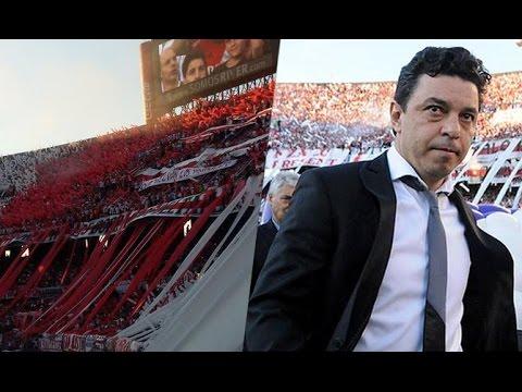 Video - Ovación a Gallardo + Boca no chamuyes más - Los Borrachos del Tablón - River Plate - Argentina