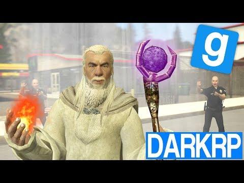 LE FOU QUI VIENT DU PASSÉ !! - Garry's Mod DarkRP (видео)