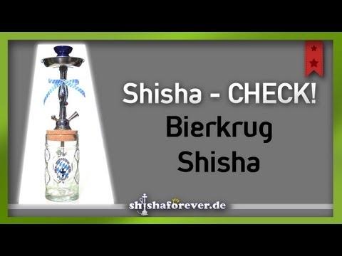 Die Bierkrug Shisha im Test