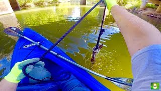 Video MAGNET FISHING WITH A 500 LB PULL MAGNET FROM A KAYAK!!! MP3, 3GP, MP4, WEBM, AVI, FLV Oktober 2017
