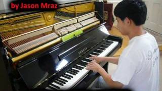 I'm Yours - Jason Mraz (Piano Cover) Music Video