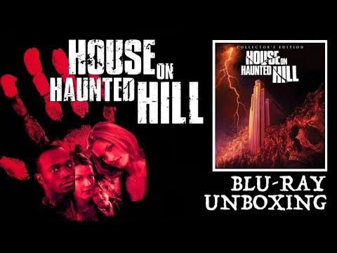 HOUSE ON HAUNTED HILL Scream Factory Blu-ray Unboxing!