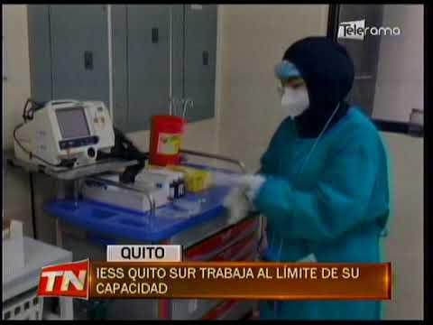 IESS Quito Sur trabaja al límite de su capacidad