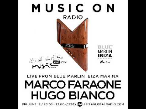 Hugo Bianco - Live @ Blue Marlin Ibiza Marina, Ibiza Global Radio (Ibiza, ES) - 15.06.2018
