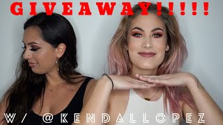 KENDAL LOPEZ DOES MY MAKEUP // IG GIVEAWAY by Joya G