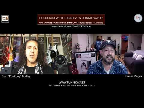 "GOOD TALK with Robin Eve & Donnie Vapor - Season 3, Episode 10 ""Diamond In The Funk"""