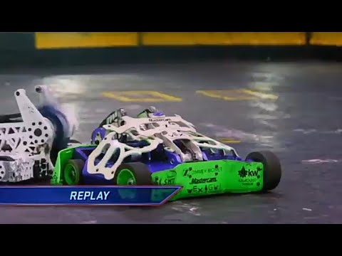 Battle bots 2019 final fight Bite force vs witch doctor