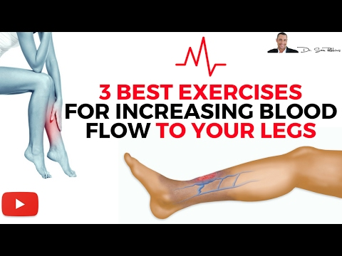 Download ♥ 3 Best Exercises For Increasing Blood Flow & Circulation To Your Legs HD Mp4 3GP Video and MP3