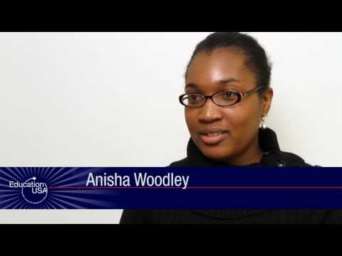 Anisha Woodley, international student adviser, talks about why students come to the U.S.