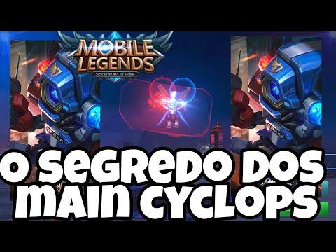 Tudocelular - O SEGREDO DOS MAIN CYCLOPS - MOBILE LEGENDS
