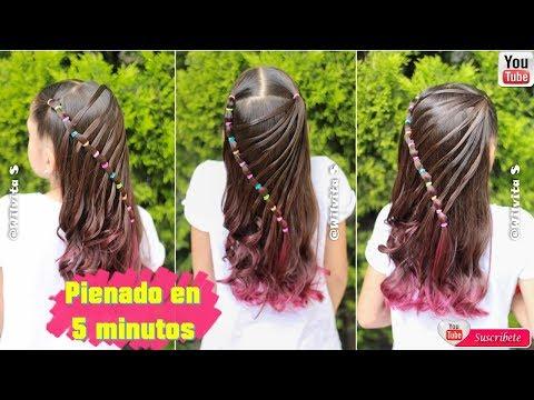 Hairstyles for short hair -   PEINADO FÁCIL EN 5 MINUTOS! • Easy 5 MINUTE Hairstyle  Wilvita