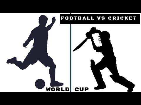 Football World Cup Vs Cricket WorldCup   Data War   Football WorldCup 2018