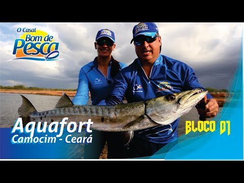 Pescaria no canal do Aquafort - 1ªT Ep 02 - Bloco 1