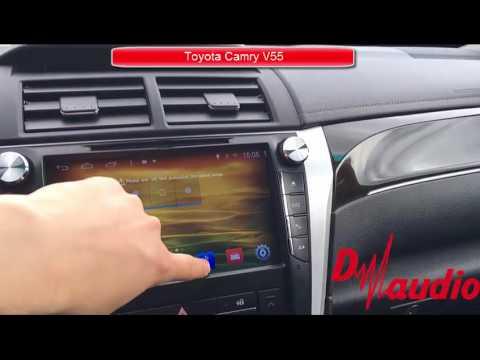 Штатная магнитола для Toyota Camry V55 2014-2017 на Android