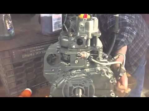 Yanmar L70 Injector Test