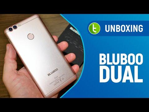 Unboxing e primeiras impressões do Bluboo Dual  TudoCelular.com