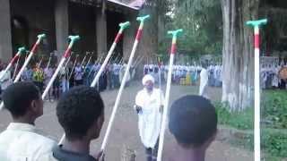 Rehearsal Event To The Maskel Ceremony - Gondar , Ethiopia 2014
