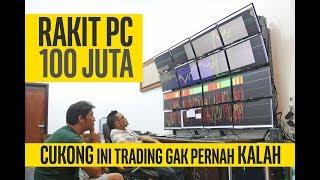 #89 CUKONG BITCOIN rakit pc 100juta + tips untuk trader pemula