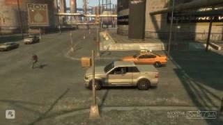 Driverless Taxi GTA IV glitch