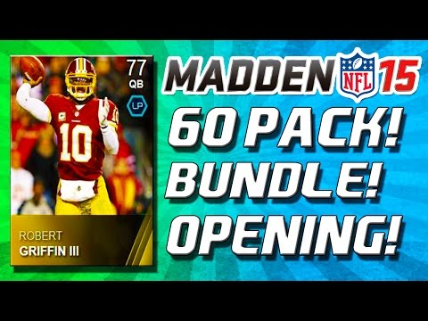 Part 1 - Madden 15 - Madden 15 Ultimate Team! Madden 15 Ultimate Team Pack Opening! We're back in packs! If you want more Madden 15 Ultimate Team Gameplay and more Madden 15 Ultimate Team Pack Openings...