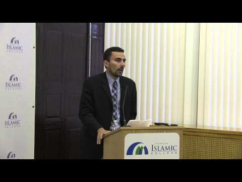 """Islamic Education Between Madrasa And University"" - Ahmed El Shamsy Lecture 9-5-13"