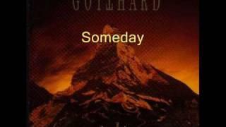 Gotthard-Someday